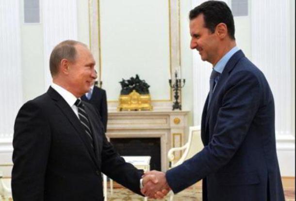putin-Al-Assad