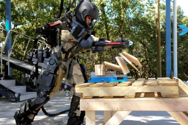 military exoskeleton